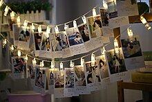 LED Foto Clips Lichterkette,FotoClips