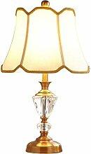LED Gelbe Bronze Schreibtischlampe Mädchen