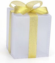 LED Geschenkbox Weihnachten Leuchtend 21,5 cm x