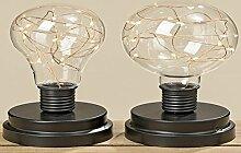 LED-Glühbirne Harry 2s H17cm Material: Eisen