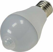 LED Glühlampe mit PIR Sensor Bewegungsmelder E27