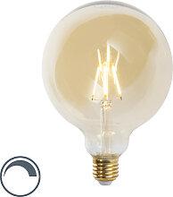 LED Goldline Lampe mit Goldschimmer E27 5W 360lm