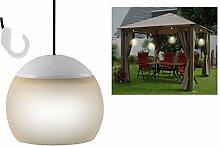 LED Hängelampe - 4er Set - Pavillon Leuchte Camping Lampe Garten Lampion