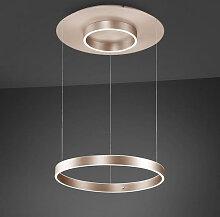 LED-HÄNGELEUCHTE , Rosa, Gold , Metall , 150 cm ,
