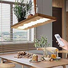 LED Hängelleuchte Esstisch Lampe Holz