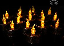 LED Halloween Teelichter Kerzen Batteriebetriebene