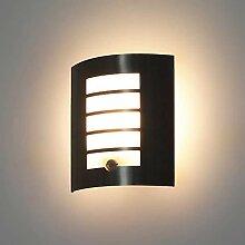 LED/Halogen Edelstahl Wandlampe Gardena-19S mit
