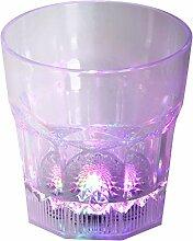 LED-Highlights Led Glas Becher Cocktailglas 250 ml