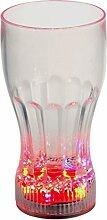 LED-Highlights Led Glas Becher Colaglas 350 ml Led