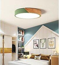 LED Holz Deckenleuchte Deckenlampe Dimmbar