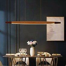 LED Holz Pendelleuchte Esstisch Lampe Dimmbar Mit