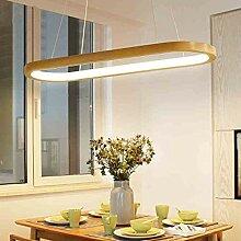 LED Holz Pendelleuchten Wohnzimmer Lampe