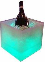 LED Ice Cube Champagnerkühler Sektkühler
