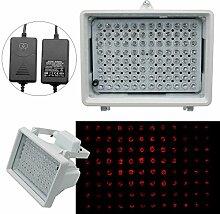 LED IR-Strahler,LED IR Scheinwerfer,IR-Strahler Licht Überwachungs Nachtsicht f.Überwachungskamera CCTV Scheinwerfer+Netzteil 60°16W