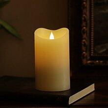 LED Kerze Flammenlose Kerze beweglicher Docht