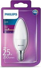 LED Kerze Philips E14/4W/230V - CANDLE milchig