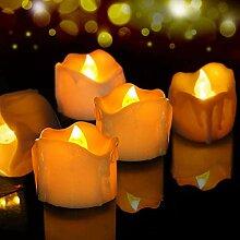 LED Kerzen, 12er Set Flammenloses LED