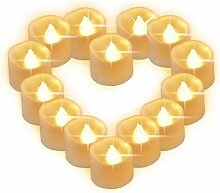 Led Kerzen Flackernde Flamme Teelicht,Led
