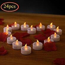 LED Kerzen, Flameless Kerzen, 24pcs LED
