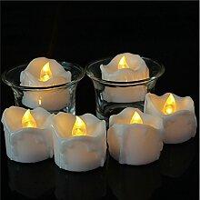 LED Kerzen, Zuoao Flammenlose Kerzen