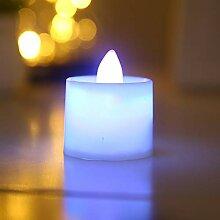 LED-Kerzenlicht, Farbe LED flammenlose Realität