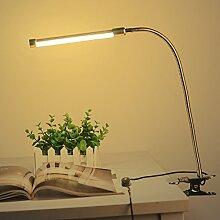 LED Klemmleuchte USB Dimmbar Bett Leselampe