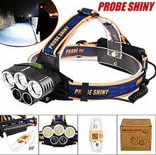 LED Kopflampe, TopTen Fan-Motive 7500Lumen 6Modi Super Bright LED Scheinwerfer Head Light Taschenlampe für Camping Jagd Wandern und Outdoor Aktivitäten