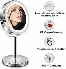 LED Kosmetikspiegel, Tischspiegel mit