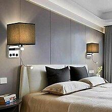 LED Kreativ Wandlampe Schlafzimmer Wandleuchte USB