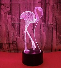 Led Kreatives Design Flamingo Nachtlicht