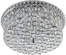 LED Kristall-Deckenleuchte AMELIA LED/230V