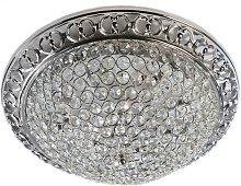 LED Kristall-Deckenleuchte AURELIE LED/18W/230V
