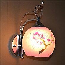 LED Kristall Wandleuchte hotel Bett Wandleuchte Treppe Wand lampe Wohnzimmer Wand Spiegel vordere Lampe