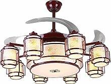 LED Kronleuchter, 8-Licht-LED-Ventilator-Licht,