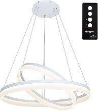 LED-Kronleuchter an Schnur RING mit Fernbedienung