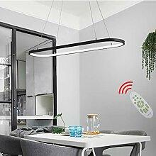 LED Kronleuchter Oval Esstisch Büro Hängelampe