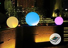 LED Kugel Ø 50cm Farbwechsel Fernbedienung