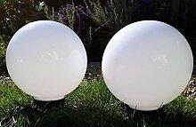 LED Kugelleuchte 2x40 cm Leuchtkugel inklusive 5
