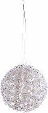 LED Kugelleuchte Merve 270 mm 8 W weiß mit warmweißen LEDs