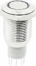 LED-Lampe, 12 V, Blau, 16 mm Gewinde, 5-polig,