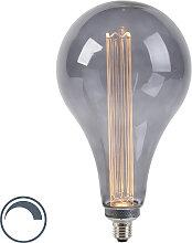 LED Lampe A165 E27 3.5W 2000K rauchdimmbar