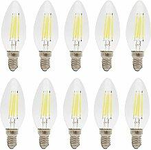 LED Lampe C35 E14 4W Ersetzt 30W
