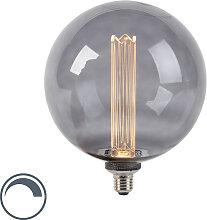 LED Lampe G200 E27 3.5W 2000K rauchdimmbar