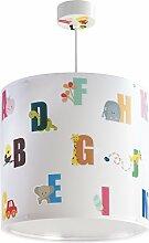 LED Lampe Kinderzimmer Decke Pendelleuchte ABC