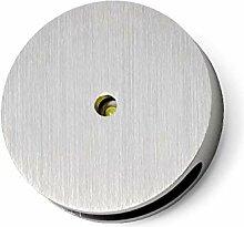 LED Lampe LEDia.12 1W Kaltweiß Aluminium