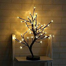 LED Lampe Lichterbaum Mit 48 Leuchtenden Blüten