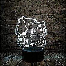 LED-Lampe Pokémon Bulbasaur ändert die Farbe