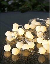LED-Lampion-Lichterkette 50-flammig Kittredge 17