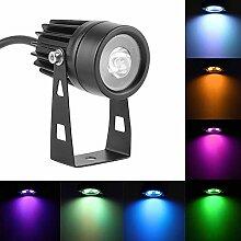 LED Landschaft Lichter, 6 Watt Helle RGB Bunte