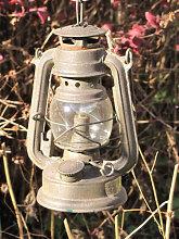 LED Laterne mit Stab inkl. Timer in Rostoptik
